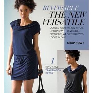 Athleta | Reversible Translation Hood Dress